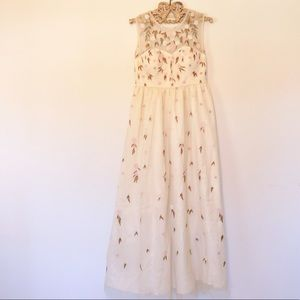 MODCLOTH The Simple Truth Maxi Dress, Large, NWOT